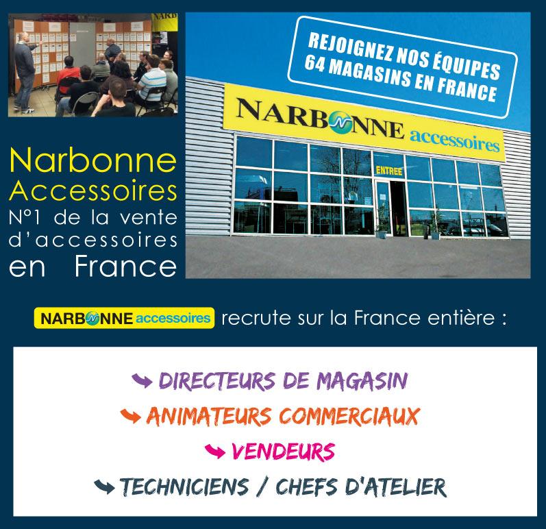 Rejoignez le Groupe Narbonne Accessoires