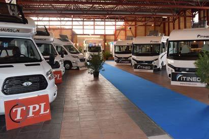 Offres d'emplois vendeurs sur Salons de camping-cars neufs et occasion avec TPL